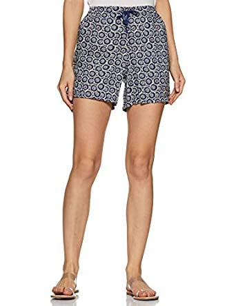 Van Heusen Athleisure Women's Printed Shorts