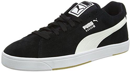 Puma Herren Suede S Turnschuhe, Schwarz (black-white 03), 43 EU (9 UK)