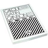 Canson 200011117 Feuille de papier Calque satin 50 x 65 cm 90 g Lot de 50