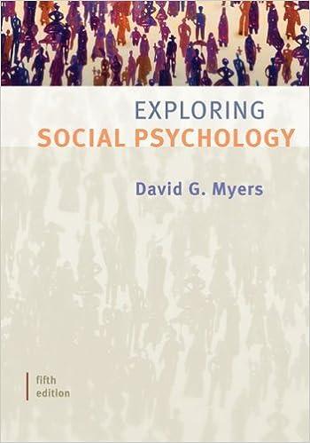 Amazon exploring social psychology 9780073370644 david exploring social psychology 5th edition fandeluxe Choice Image