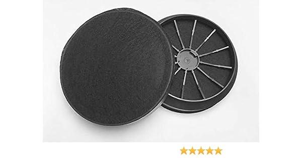 keenberk - 1 par de filtros de carbón activo para campana ...