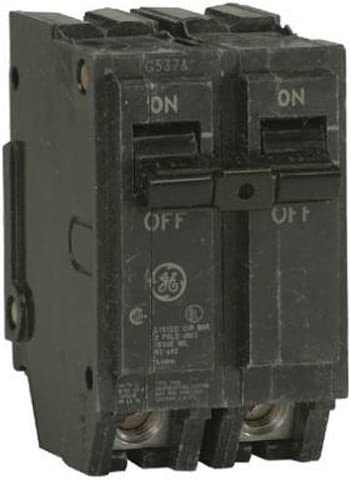 General Electric THQL21100 Thick Series 2-Pole 100-AMP Circuit Breaker, 100 amp, As shown in the image