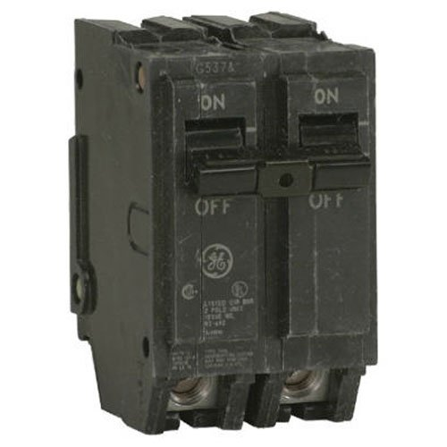 General Electric THQL2160 Circuit Breaker, 2-Pole 60-Amp Thick Series
