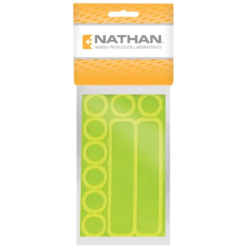 Nathan Reflective Dots and Dashes Stickers, Yellow