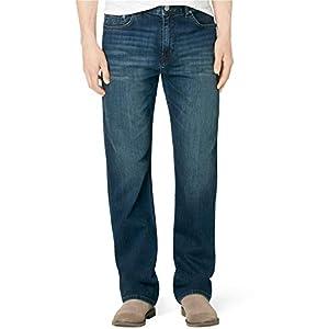 Calvin Klein Men's Relaxed Straight Fit Denim Jeans