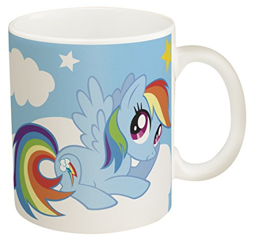 Mug Pony (Zak Designs My Little Pony 11 oz. Ceramic Coffee Mug, Rainbow Dash)