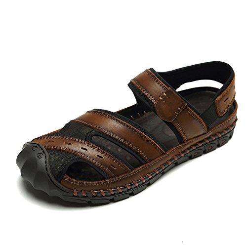3 Transpirables Zapatos De De Verano 1 EU Wangcui Antideslizantes Zapatos Amortiguación Marrón De tamaño Color Playa Negro Sandalias 39 wq0xzxa8X