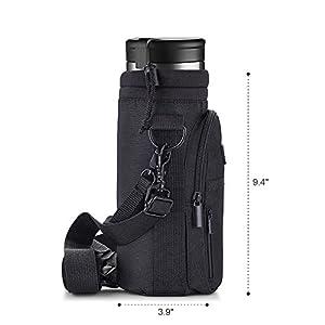 Uarter 40 oz Bottle Holder Adjustable Bottle Handbag Shoulder Messenger Bag