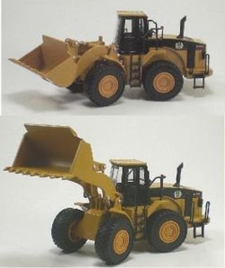 Front End Loader Heavy Construction Die Cast Truck 1:50 [Toy]
