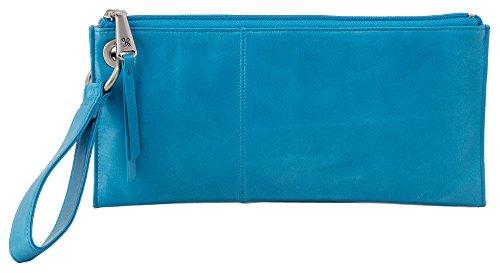 [Hobo Womens Leather Vintage Vida Clutch Wallet (Capri)] (Hobo Purse)