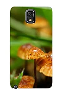 Crazinesswith Shock-dirt Proof Mushrooms Case Cover Design For Galaxy Note 3 - Best Lovers' Gifts BY icecream design