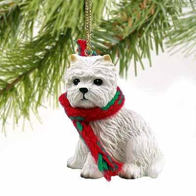 West Highland Terrier Miniature Dog Ornament