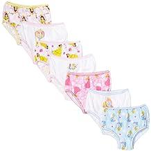 Disney girls Toddler Girls Princess 7-pack Panties
