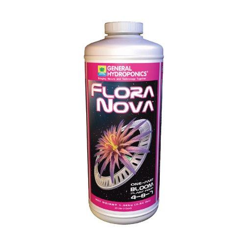 General Hydroponics Gh1632 General Hydroponics Flora Nova Bloom  Quart