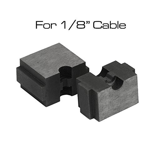 """Swage Die for Cable Crimper on our 1/8"""" Wire Rope Cable End Fittings"""