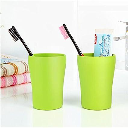 Soportes y dispensadores Creative soporte de pared suction-rinsing taza de grosor redondo cepillado taza