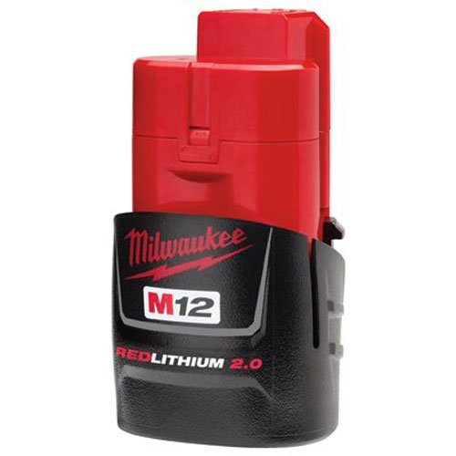 Milwaukee 48-11-2420 M12 REDLITHIUM 2.0 Compact Battery Pack (1-Pack) (Compact Milwaukee)