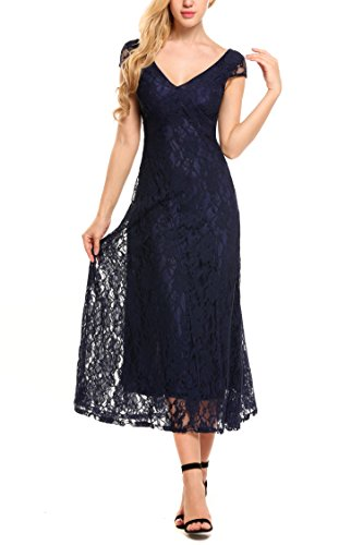 ANGVNS Womens Sleeve Cocktail Evening