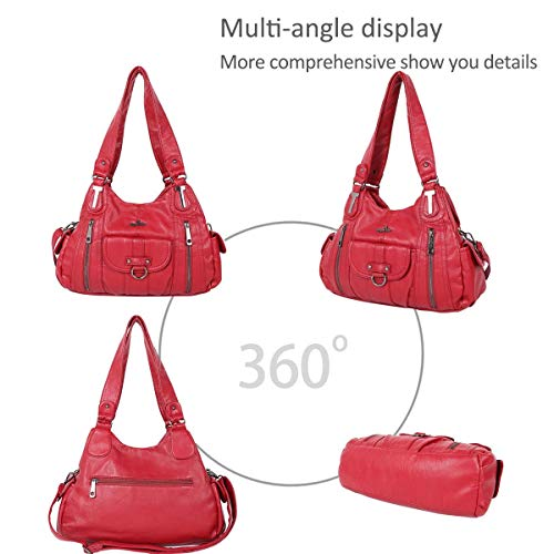vintage totes women large DORIS bags Red Hobo NICOLE amp; for bags bags hobo shoulder qRxpCSHw