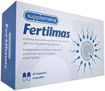 Selenium Male Fertility Supplements: Fertilmas Vitamin D C and B12 Antioxidant Zinc and Folic Acid Men's Sperm Motility Reproductive Health Aid
