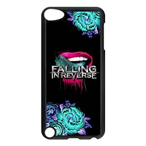 ROBIN YAM Falling In Reverse Band Slim Hard Snap-On Back Cover Skin Case for New iPod Touch 5th Generation 5G 5 -GRY539