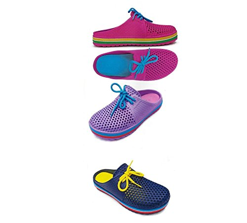 Pictures of DINY Home & Style Ladies Womens Slip On Sneaker Clogs Sandals 6