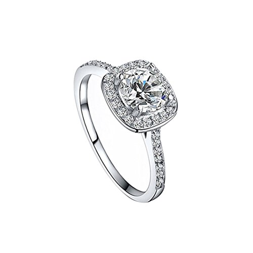 SODIAL Crystal Engagement Wedding Jewelry