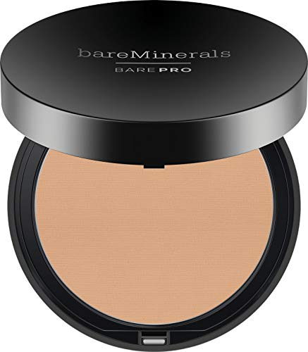 (bareMinerals Barepro Performance Wear Powder Foundation, Warm Natural, 0.34 Ounce)