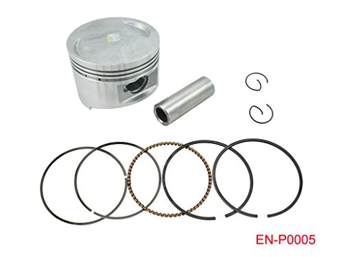 57mm Completed Piston Kit Ring Spring Pin Set for GY6 150 150cc ATV Moped Scooter Go Kart Roketa JCL Taotao Sunl