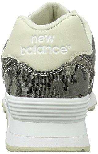 New blanco Balance Deportivos Powder Zapatillas Wl574 Mujer ffUZrT
