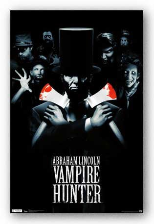 Abraham Lincoln Vampire Hunter Movie Poster - Double