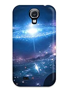 Galaxy S4 HWFVWNU1813rbVLD Star Dance Tpu Silicone Gel Case Cover. Fits Galaxy S4