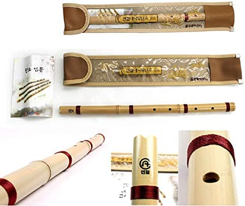 Bamboo Danso Korean Traditional Flute Musical Instruments Amazon Sg Electronics