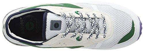 Hi-Tec Badwater - Zapatillas de deporte Hombre Blanco (White/Evergreen/Purple 011)