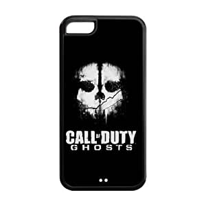 Fashion Call of Duty Ghosts Personalized iPhone 5C Rubber Silicone Case Cover