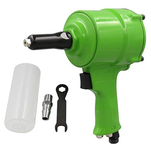 Fityle Heavy Duty Roofing Pneumatic Stapler Nailer Air Staple Tools – Green