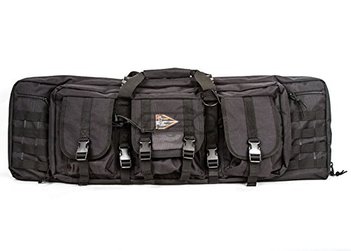 Lancer Tactical 36'' MOLLE Padded Airsoft Gun Bag (Black) by Lancer Tactical