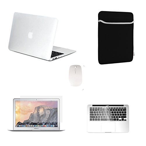 TOP CASE - 5 in 1 Bundle Deal Air 11-Inch Ultra Slim Ligh...