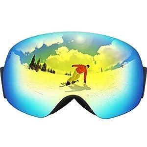 snowboarding glasses  Amazon.com : OMorc Ski Goggles Snowboard Goggles Anti-Fog \u0026 100 ...