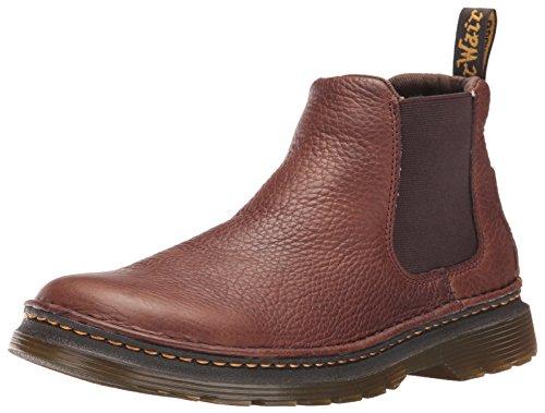 Brown Chelsea Boot - Dr. Martens Men's Oakford Chelsea Boot, Dark Brown, 10 UK/11 M US