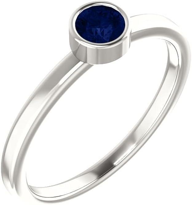 Jewels By Lux 925 Sterling Silver Imitation Blue Sapphire Earrings