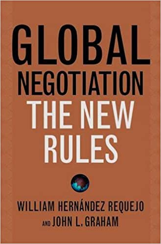 Global Negotiation: The New Rules: William Hernández Requejo, John L