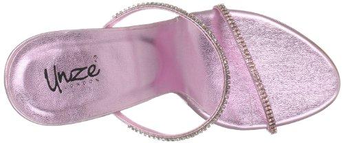 Unze Evening Sandals L18514W - Sandalias para mujer Rosa