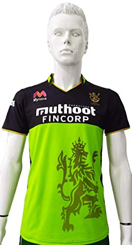 BOWLERS RCB 2020 IPL Green/Black Jersey Half Sleeves Price & Reviews