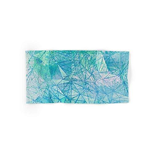 zixi Aquamarine Space Geometry Hand Towel 31