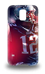 First Class 3D PC Case Cover For Galaxy S5 Dual Protection Cover NFL New England Patriots Tom Brady #12 ( Custom Picture iPhone 6, iPhone 6 PLUS, iPhone 5, iPhone 5S, iPhone 5C, iPhone 4, iPhone 4S,Galaxy S6,Galaxy S5,Galaxy S4,Galaxy S3,Note 3,iPad Mini-Mini 2,iPad Air )