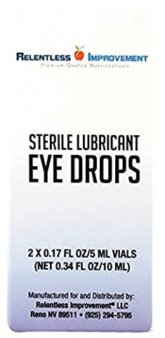 Relentless Improvement Lubricating Carnosine Drops - 2% Ophthalmic Solution