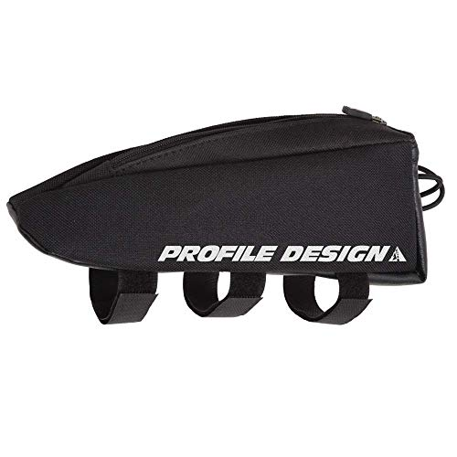 (Profile Designs Aero E-Pack Top Tube/Stem Bag Black, Standard)