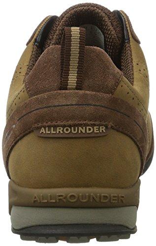 Allrounder by Mephisto Tajalo, Zapatillas de Deporte Exterior para Hombre Braun (caramello)