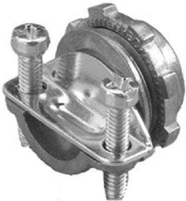 "Halex 05103B 3/8"" Non Metallic Clamp Connector"